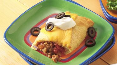 Crescent Beef Burritos