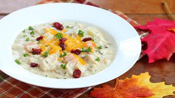 Slow-Cooker Turkey Dinner Soup