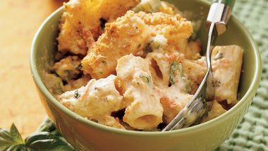Three-Cheese Rigatoni