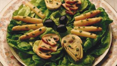 Artichoke-Asparagus Salad