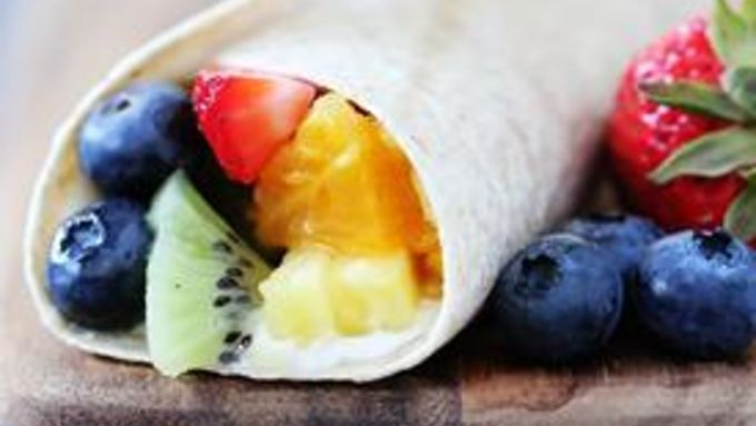 Rainbow Fruit Wraps