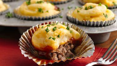 Potato Topped Mini Meatloaves