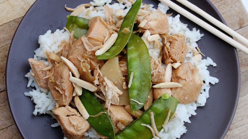 Slow-Cooker Almond Chicken