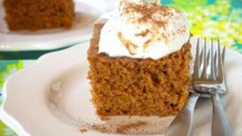 Slow-Cooker Pumpkin Cake