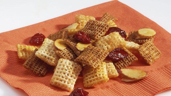 Cranberry Orange Chex Mix