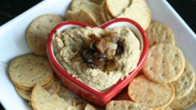 Caramelized Shallot Hummus