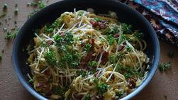 Espagueti a la Carbonara