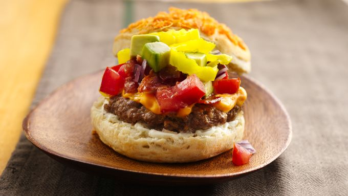 Loaded Nacho Burgers