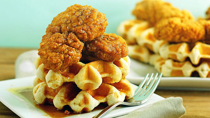 Easiest-Ever Chicken and Waffles