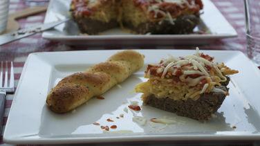 Tartaleta de Espagueti Boloñesa