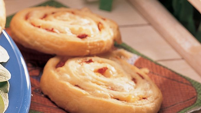 Cheese and Sauerkraut Pinwheels