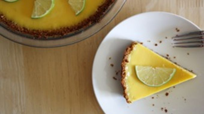 Key Lime Pie (with a Graham Cracker Coconut Crust) recipe - from ...