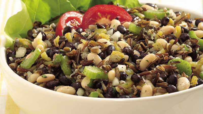 Wild Rice and Bean Salad