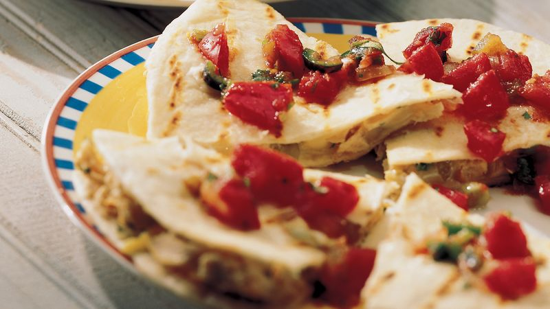 Classic Chicken Quesadillas