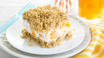Frozen Creamsicle™ Crunch Cake