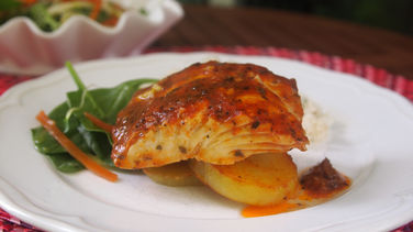 Barbecued Chilean Sea Bass