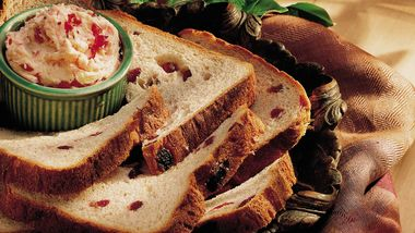 Bread Machine Whole Wheat-Cranberry Bread