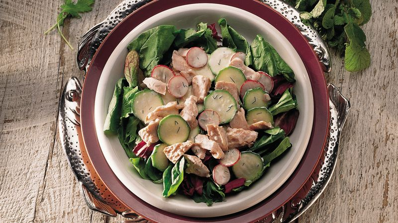 Dilled Salmon Salad
