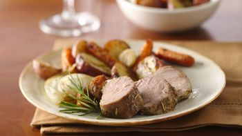 Pork Tenderloin with Roasted Vegetables