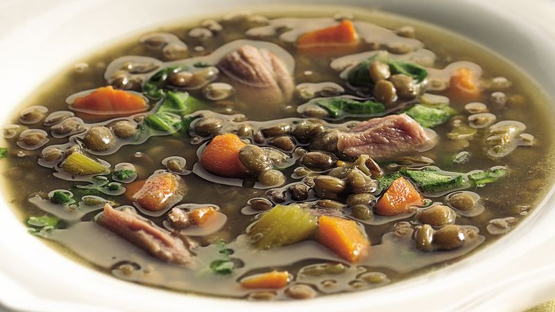 Slow-Cooker Lentil Soup