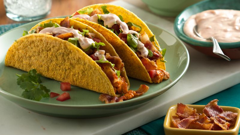 Turkey Bold Ranch Club Tacos