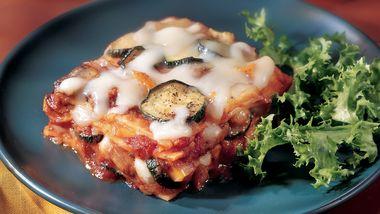 Skinny Roasted-Vegetable Lasagna