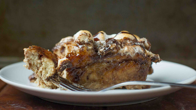 Hot Chocolate French Toast Bake