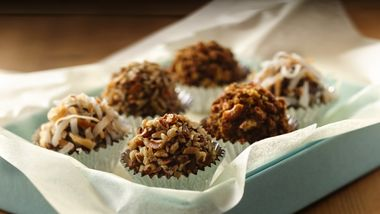 Skinny Dark Chocolate Truffles