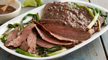 Flank Steak with Coffee-Chipotle Sauce