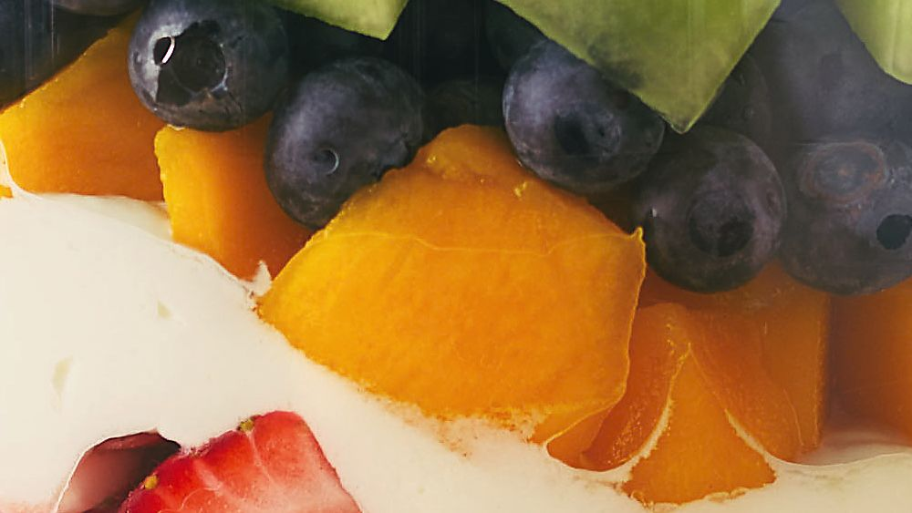 Layered Summer Fruits with Creamy Lime Dressing recipe from Pillsbury ...