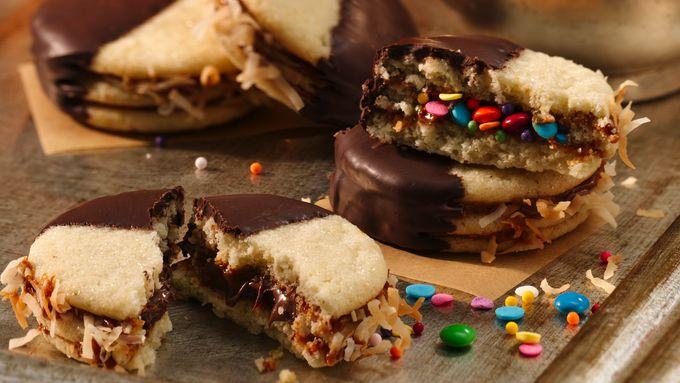 Alfajores Hidden Surprise Cookies