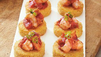 Shrimp and Grits Bites