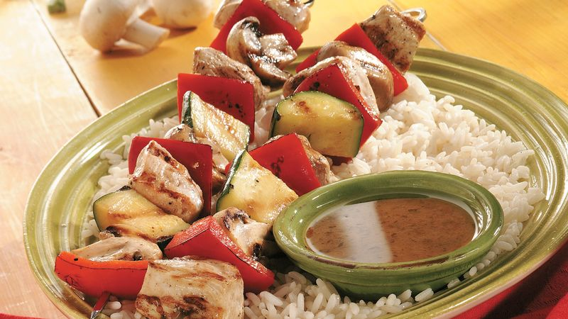 Italian Grilled Kabobs