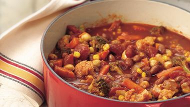 Vegetable and Bean Chili