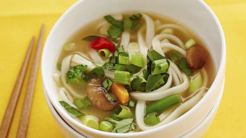 Udon Bowl with Veggies