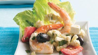 Mediterranean Shrimp Antipasto