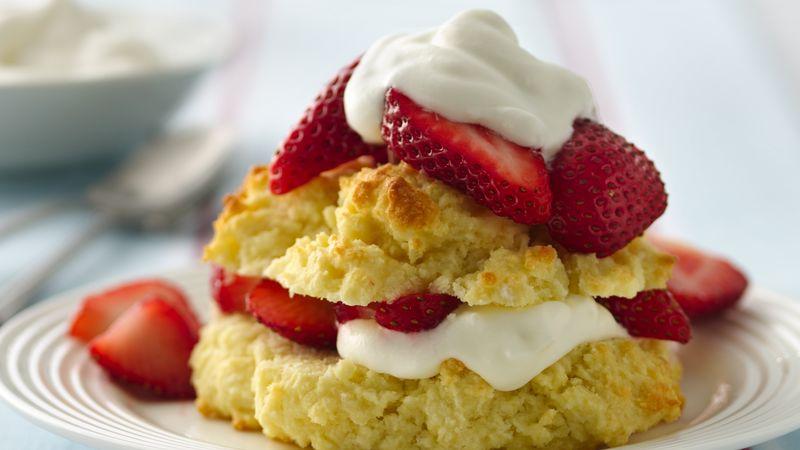 Gluten-Free Strawberry Shortcakes