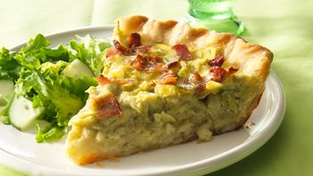 Easy Artichoke Quiche