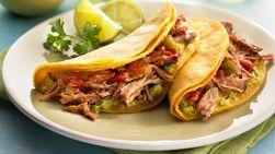 Tacos de Puerco Asados con Canela