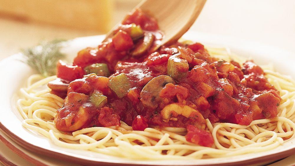 Vegetable Spaghetti Sauce