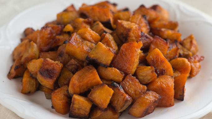 Cumin Roasted Sweet Potatoes
