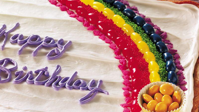 Rainbow Cookie Bars