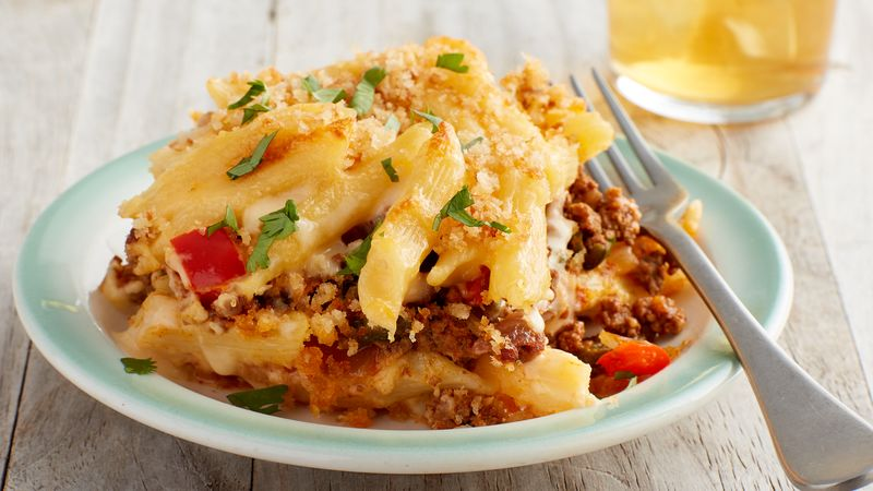 Tex-Mex Macaroni and Cheese recipe from Betty Crocker
