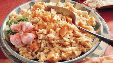 Coconut-Papaya Rice