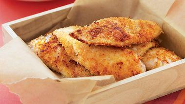 Panko Panfried Fish Strips