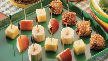Granola Fruit Kabobs