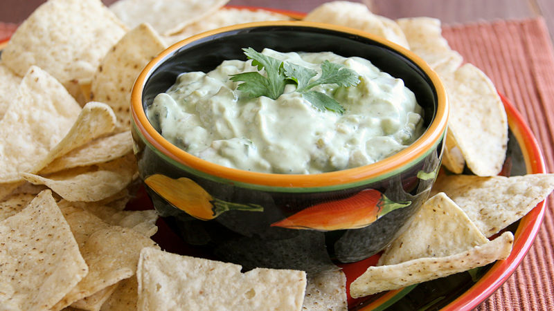 Green Chile-Avocado Dip