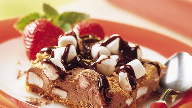 S'mores Mousse Squares