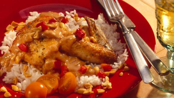 Indonesian Peanut Chicken