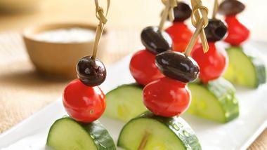 Greek Salad Kabobs